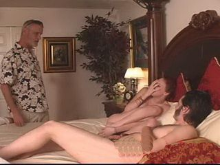Stepfather Caught His Son And His Slutty Stepdaughter Fucking And Decided To Watch Them