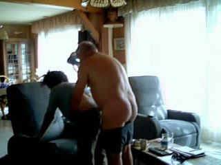 French Mature Couple Having Homemade Sex After Lunch