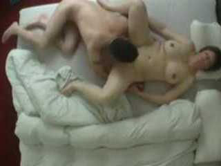 Sleeping Amateur Chubby Woman Had A Decent Awakening