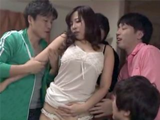 Teen Boys From Hood Finally Revenge To Busty MILF For Teasing Them And Masturbating By The Window