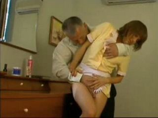 Older Guy Swooped And Fucked Seductive Maid