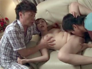 Gangbanged Japanese Stepmother By Her New Husband And His Pervert Son
