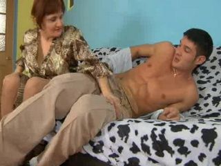 Horny Russian Mature Wants Young Cock