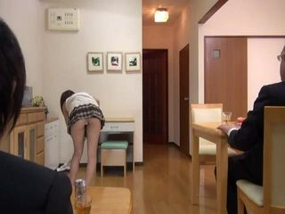 Guy Helped His Boss Getting Home After Party And Just Couldnt Resist His Naughty Wife And Fucked Her While He Was Sleepi