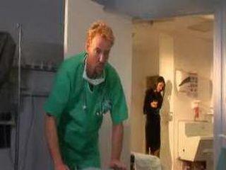 Hot Brunette Visit A Doctor