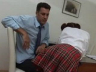 Naive Coed Teen Schoolgirl Will Regret For Provoking Private Tutor