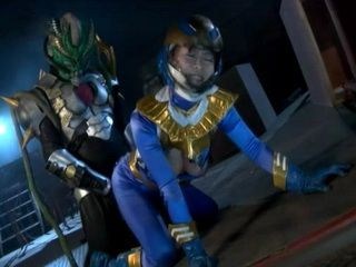 Power Ranger Hero Nozomi Hatsuki Gets Totally Humiliated and  Fucked By Space Monster