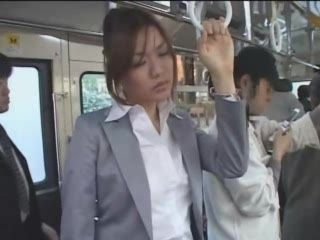 Japanese Young Mom Accepted Sex In Buss 3