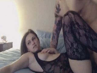 Hot Beauty Fucks in Sexy Lingerie