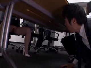 Business Lady Ai Uehara Gets Naughty During Company Meeting
