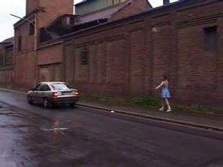 German Schoolgirl Gets Fucked On Her Way Home From School