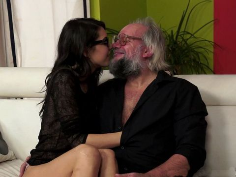 Sexy Girl Plays With Her Future Father In Law