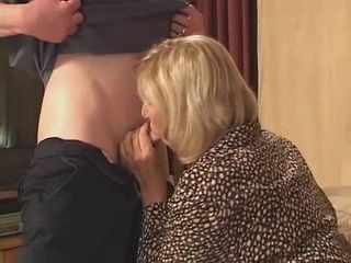 Hot Blonde Mature Loves When Her Pussy Feels Young Firm Cock