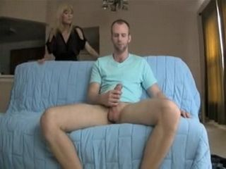 Son In Law Busted Masturbating Gets Nice Blowjob Help