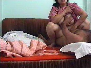 Busty Desi Housewife Making Her First Home Video