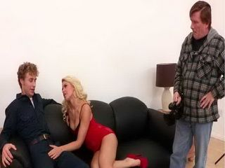 Filthy Blonde Bitch Desperately Wants To Tape Her Wild Sex With This Hot Guy