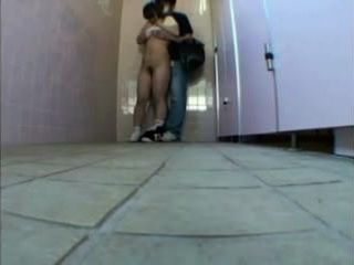 Teen Abused and Fucked in Public Toilet