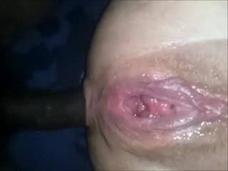 Anal Fucking While Pussy Is Squirting Like Crazy
