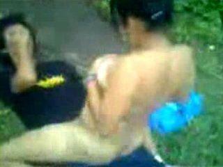 Amateur Latina Teen Fucks Camera Shy Guy Outdoor In Nature
