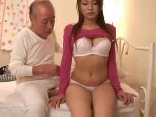 Old Japanese Fart Fucks Hot Young Chick