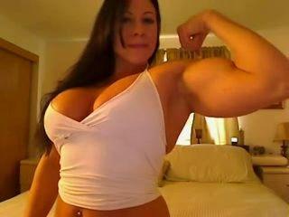 Big Tits Muscle Woman