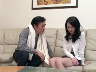 Petite Asian Daughter In Law Must Suffer All Her Father In Law Desires