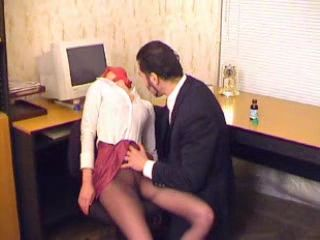 Boss Chloroforms and Fucks His Passed Out Secretary at the Office