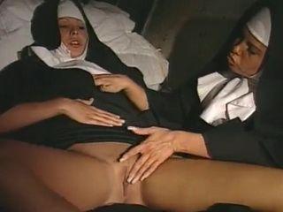 Lesbian Nuns Sinful Sex in Church