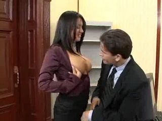 naughty office eva angelica