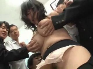 Busty Japanese Schoolgirl Gets Abused By Her New Classmates On Her First Day At New School