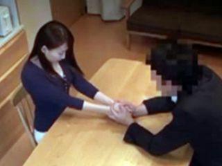 Housekeeper Kurea Hasumi Seduced Into Fucking By Dirty Bosses Friend