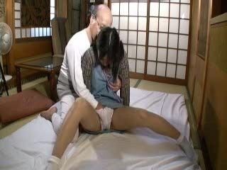 Old Grandpa Abuse and Fuck his Teen Grand Daughter