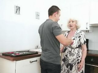 Wrinkled Granny Calls Handyman Just To Reach Some Young Fresh Meat