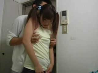 Cute Japanese Teen Fucked in Bathroom