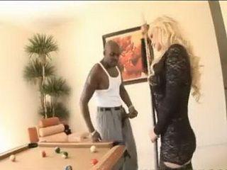 Busty Blonde Asshole Hard Pounded By Black Snake