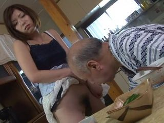 Daughter In Law Kaoru Natsuki And Her Old Father In Law
