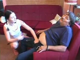 Dad Injured a Tricky Part Of His Body and His Teen Daughter Will Give Her Best To Make Him Feel Better