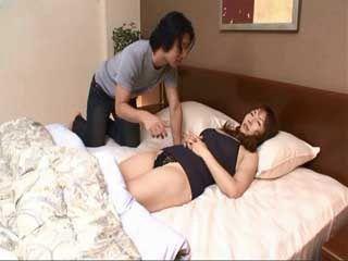 Sleeping Mother Terasaki Izumi Awaken By Her Son And Fucked