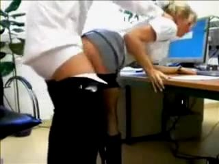 Amateur Blonde Real Secretary Gets Fucked By Her Boss In The Office