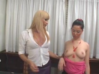 Shemale Boss Attack Teen Secretary at Office