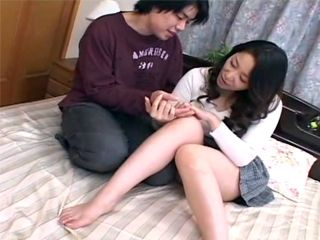 Fortune Telling To Her Sons Friend Turned In To Hard Fucking For Horny Japanese Mom