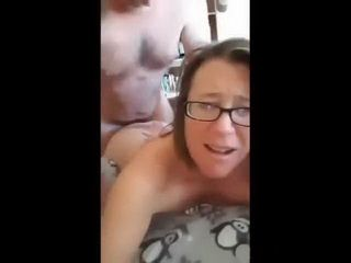 Fucking My Nerdy Wife Anal Ending With A Facial