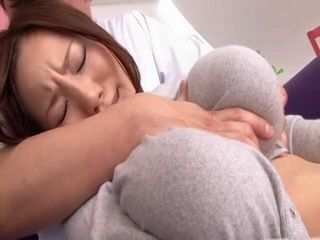 Busty Ruri Saijo In Visit at Perverted Physiotherapist