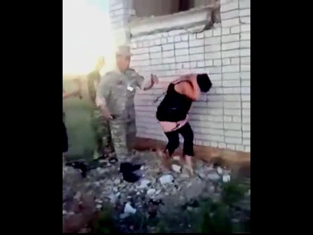 Real Ukrainian Soldiers Got Busted By Their Commander Fucking a Prostitute
