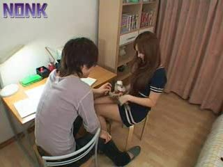 Japanese Private Teacher Gave Extra Lesson To Boy Today