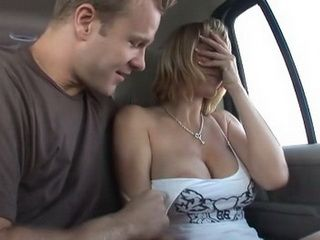 Big Tited Milf Picked Up On The Street By Total Strangers And Fucked In The Car