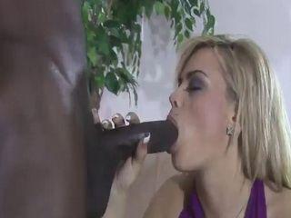 Busty Starla Sterling gets her black studs massive cock hard