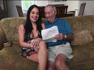 Little Blue Pill Make Old Grandpa Fuck Hot Pussy Like In Bavkdays