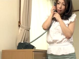 Naughty Japanese Maid Fucking With Her New Boyfriend In Her Bosses House