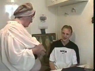 Fat Russian Granny Fuck Two Boys